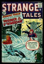 Marvel Comics STRANGE TALES #103 Human Torch Prisoner Of 5th Dimension VG/FN 5.0