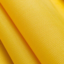 Vinyl Mesh Lemon Yellow 60″ Fabric is a tightly woven 70% PVC & 30% vinyl-coated