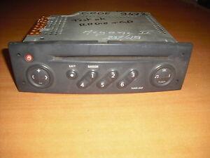 autoradio cd origine de renault megane 2 tuner list  (ref 1792)