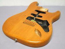 LIGHT!! 2003 Fender USA Highway One Strat BODY Alder Natural Satin Nitro Guitar