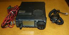ICOM IC-706MKIIG HF VHF UHF TRANSCEIVER W/ UPGRADES FREE SHIPPING