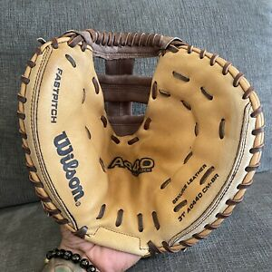"WILSON A440 OPTIMA Genuine 1st Base Baseball RHT Pro Tech Padding 31"" A0440"