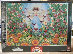 EDUCA PUZZLE. GARDEN BY CATALINA ESTRADA .1000 PIECES - BRAND NEW  & MINOR DAMAG