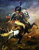 The Charging Chasseur by Géricault. War Art Repro. Made in U.S.A Giclee Prints