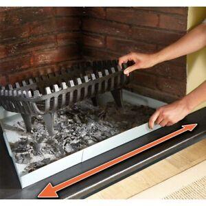 Adjustable Iron Fireplace Tray Grate Cinder Ash Pan 68.5cm - 81.5cm