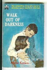 WALK OUT OF DARKNESS rare Australian Star nurse romance gga pulp vintage pb