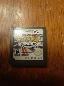 Pokemon Platinum Version (Nintendo DS, 2009) Authentic Tested Cartridge Only