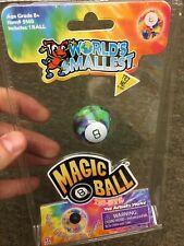 TIE-DYE World's Smallest Magic 8 Ball Tye-Die Miniature Mini Fortune Teller Toy