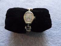 Vintage Wind Up Swiss Made Lucerne Ladies Watch with a Stretch Band