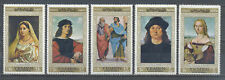 YEMEN 1968     Raphael Paintings MNH set