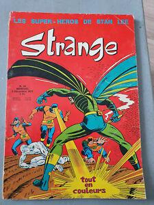 BD Comics Strange T24 Stan Lee LUG