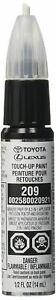 GENUINE TOYOTA LEXUS BLACK MICA TOUCH-UP PAINT PEN CODE 209 OEM 00258-00209-21