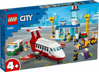 60261 LEGO CITY Central Airport Airplane Charter Plane Set 286 Pieces Age 4+