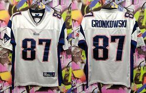 New England Patriots Rob Gronkowski #87 Football Jersey Sewn Stitched Mens 50