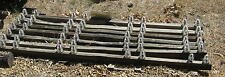 Antique Vintage Glass Insulators with Wood & Metal Crossbeams - Local Pickup