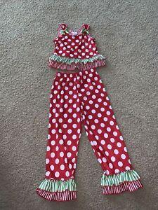 "Laura Dare Size 6 Pajama Set ""Great"""