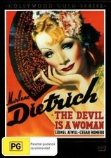E35 BRAND NEW SEALED The Devil is a Woman by Marlene Dietrich (DVD, 1935)