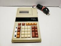 Vintage Unisonic XL-118 Electronic Printing 10 Digit Display Calculator