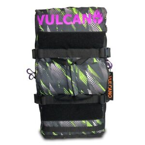 Vulcano Fire 50L Backpack - Paintball Gear Bag Green/Purple