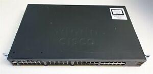 Cisco Catalyst WS-C2960X-48TS-LL V03 2960-X 48 Port Managed Gigabit Switch