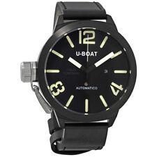 U-Boat Classico AB Black Dial Automatic Mens Watch 1823