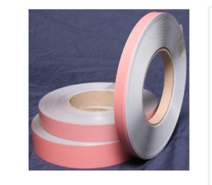 Magnetic Receptive Tape White Faced Steel Premium Adhesive 5 Metre Length x 12mm