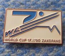 FIS WORLD CUP SKI FLYING JUMPING POLAND ZAKOPANE 1990 PIN BADGE