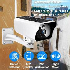 Outdoor 1080P Solar Powered Security Energy Camera Wireless WiFi IP Home CCTV HD