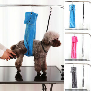 Dog Harness Hammock Helper for Grooming NO-SIT Restraint Bathing Trimming Nail