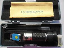 LED Imker Refraktometer Brix Zucker Honig Baume WASSERGEHALT Honigfeuchte 3022