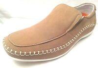 "DELLI  ALDO - Men SIZE 7  Premium ""BEIGE"" Leather Lined Loafers Soft Comfy"