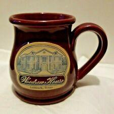 Deneen Pottery Coffee Mug - Woodrow House Lubbock, Texas