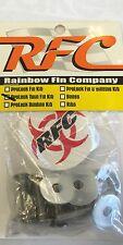 Rainbow Fin company Twin 1/4 20 Fin Screw Set