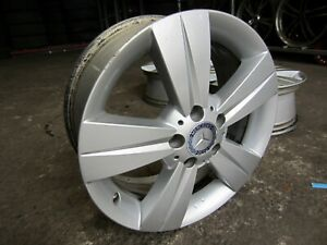 17 inch Mercedes Benz Valente 2012 17x7 Set 4 Alloy Mag Rim Wheels A6394012402