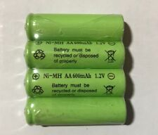 4-pcs1.2v AA (600mAh) Ni-MH Rechargeable Battery For Solar Devices
