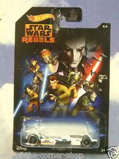 HOT WHEELS STAR WARS INSPIRED CAR JET THREAT 3.0 STAR WARS:REBELS 8/8 CYJ10 MINT