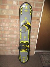"""RAGE SNOWBOARD """"MIGHTY MACHINE"""" 130 CM  WITH BINDINGS ~ GOOD CONDITION ~ FAST!"""
