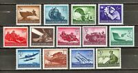 Germany - 1944 13v. MNH Hero Memorial Day Military Uniforms Weapons