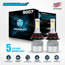 New listing Hb5 9007 1700W Led Headlight Bulb Conversion Kit Hi Lo for Nissan Frontier 03-17