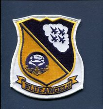 US NAVY BLUE ANGELS BOEING F-18 HORNET FLIGHT Current Demo Team Squadron Patch