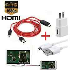 MHL Micro USB to HDMI 1080P HD TV Cable Adapter for Samsung Galaxy S5 S4 Note 3