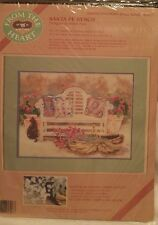 Santa Fe Bench 1990 Dimensions From the Heart #53917 NO Count Cross Stitch