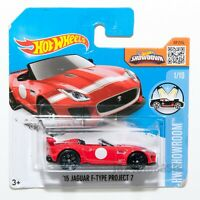 Jaguar F-Type Project 7, 2016 Hot Wheels scale 1:64, model toy boy gift
