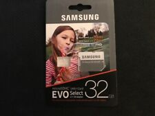 Samsung Micro SDHC UHS-I EVO Select  SD Memory Card Adapter