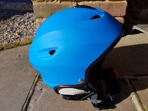 White Rock. Ski helmet. Vulcan. Matt Blue. Medium. 55-56cm