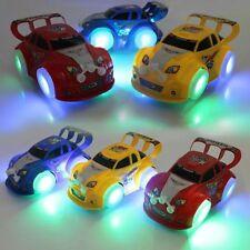 1Pc Flashing LED Light Music Racing Car Model Vehicles Toys Gifts Color Randomly
