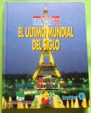 SOCCER WORLD CUP FRANCIA 98 FUTBOL  MARADONA PELE BATISTUTA RONALDO  XRARE
