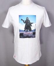 CHUNK White Darth Vader T Shirt M Wembley Stadium Star Wars Empire Retro Concert