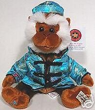 Herrington Teddy Bear Club 2004 January NEW YEAR Monkey Silk Outfit PLUSH Toy