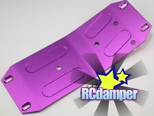 ALUMINUM LOWER CENTER SKID PLATE P HPI 1/8 SAVAGE 21 25 SS 3.5 4.6 ALLOY MIDDLE